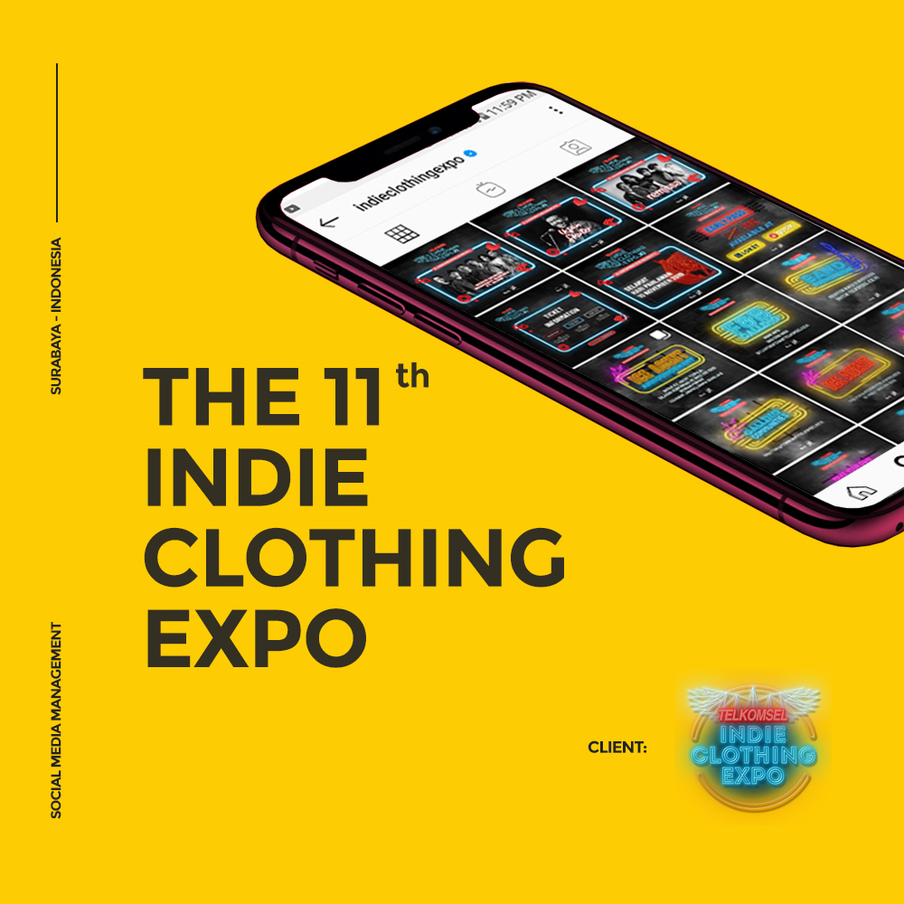 THE 11TH INDIE CLOTHING EXPO